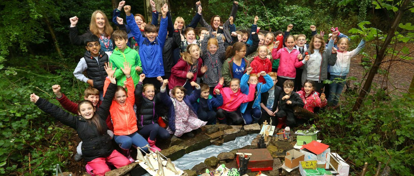 National Park Forest School session