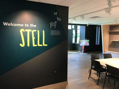 Our temporary exhibition space The Stell