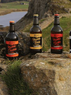 Muckle Brewing Beer bottles
