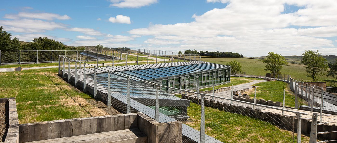 The Green roof of The sill National Landscape Discovery Centre