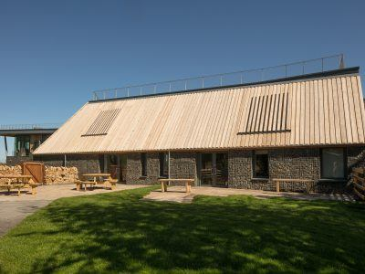 the rear view of YHA At The Sill