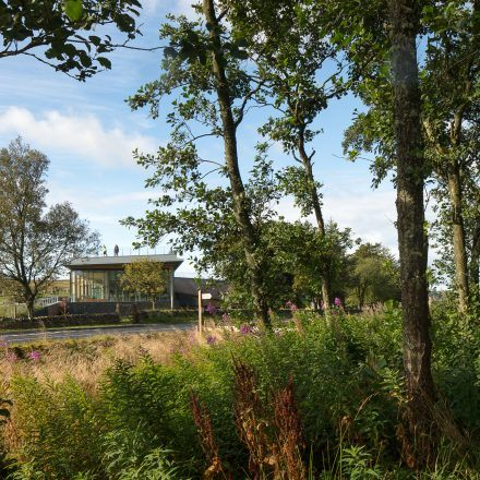 A view of the The Sill: National Landscape Discovery Centre building