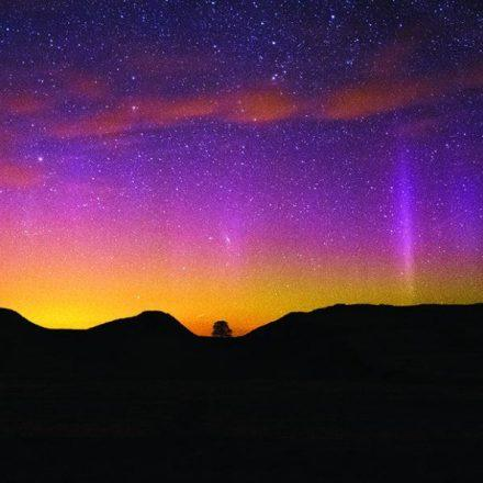 Aurora at Sycamore Gap