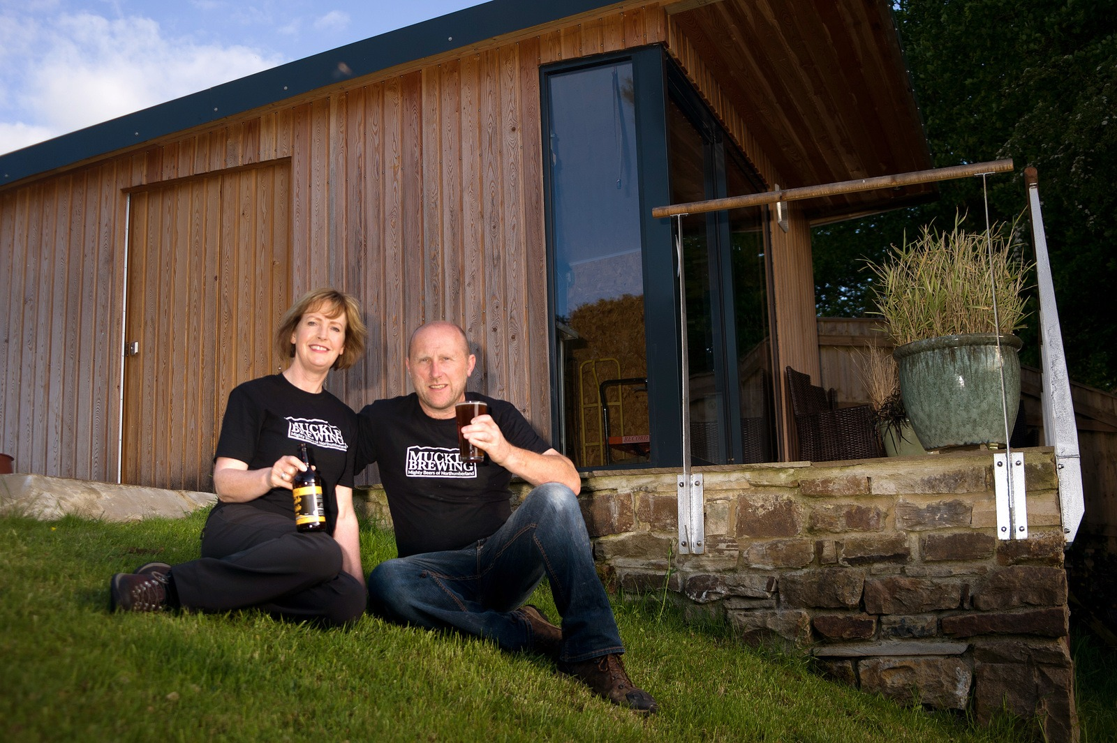 Nicola and Tom Smith from Muckle Brewing