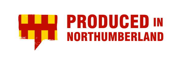 PRODUCED IN NORTHUMBERLAND logo