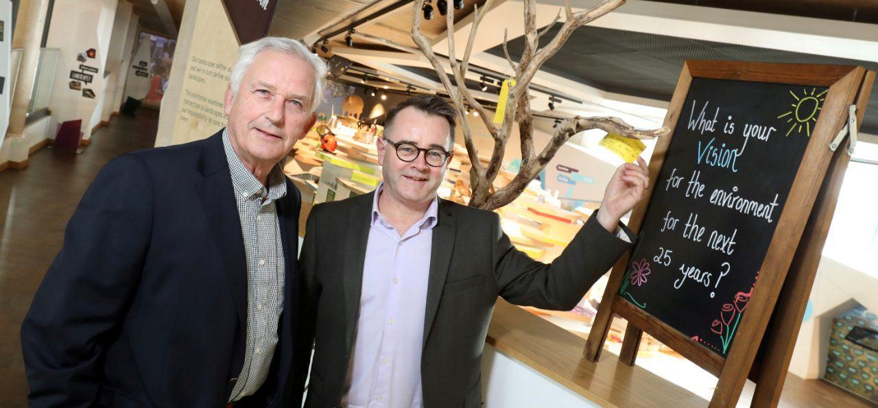 Glen Sanderson and Tony Gates in The Sill