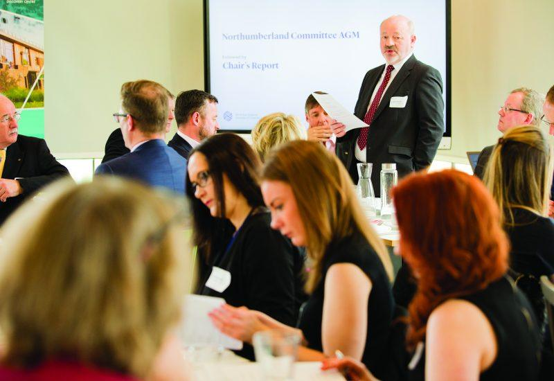 Members of the north east chamber of commerce meet at the sill for their Annual General Meeting