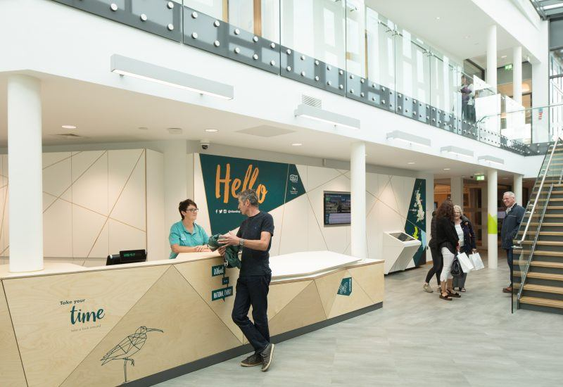 The main reception desk at The Sill