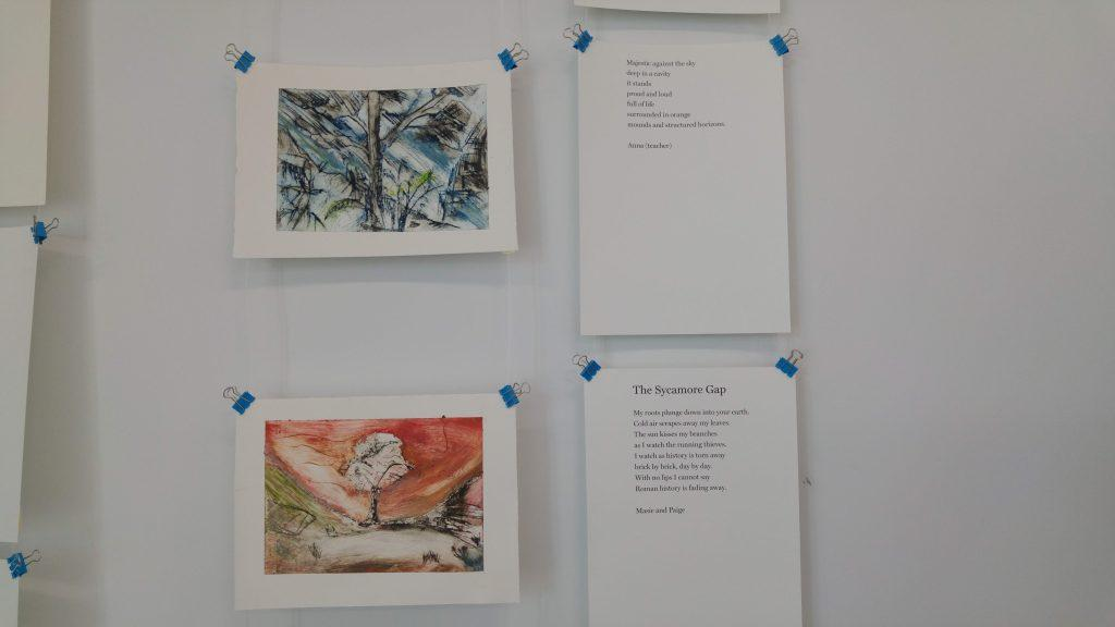 poems and artwork from sense of place