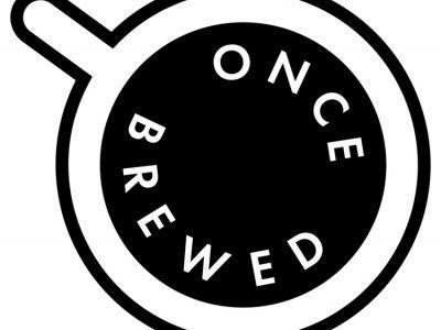 Once Brewed Cafe logo