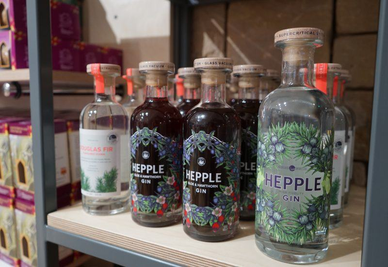 Hepple Gin for sale in the The Sill Shop