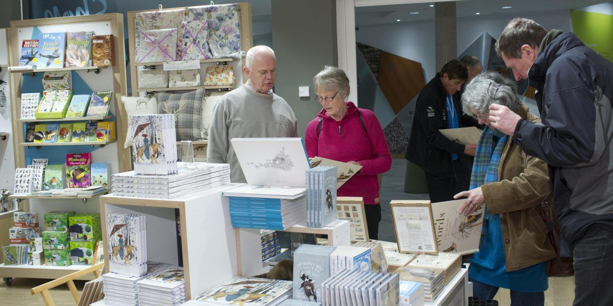 Customers browsing in The Sill Shop