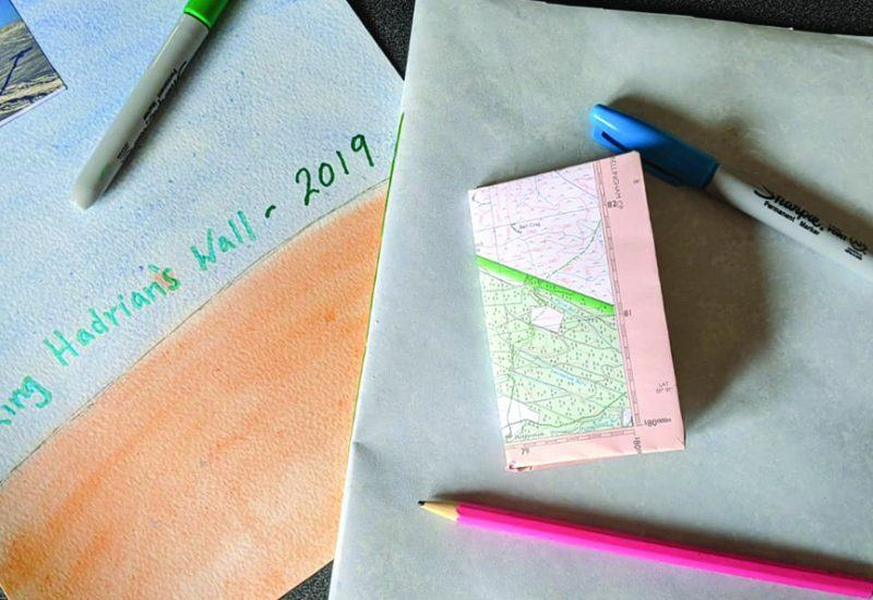 Paper journals and pens