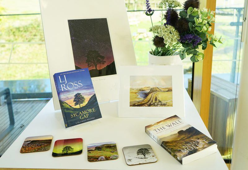 A range of Hadrian's Wall gifts