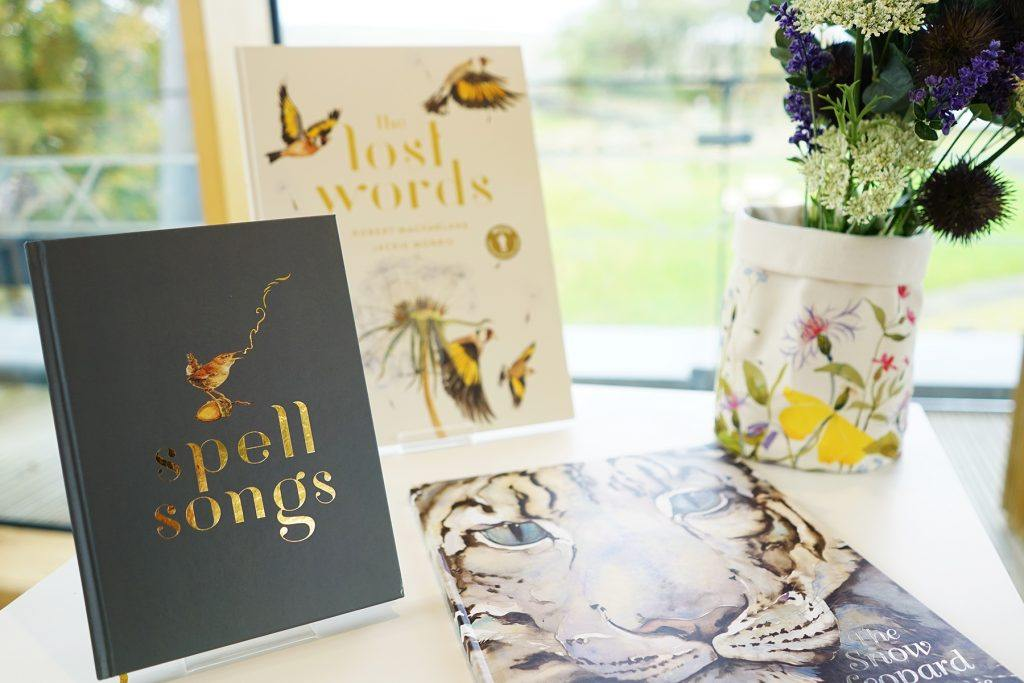 A range of products by artist Jackie Morris