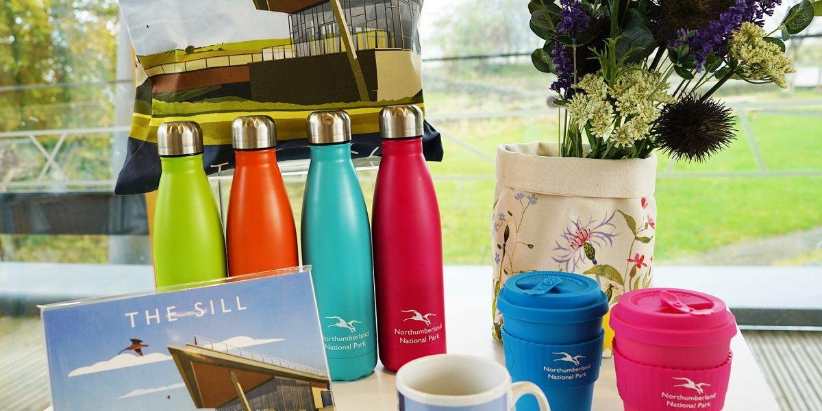 A range of Sill brand merchandise