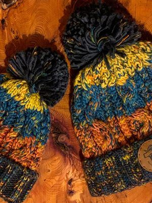 Two hats made by Northern Ranger