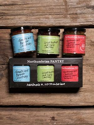 A selection of Northumbrian Pantry jams