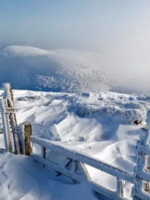 Hedgehope Hill seen from Cheviot from Simon Fraser Photography