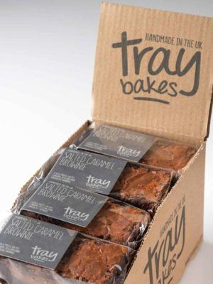 A packet of Traybakes