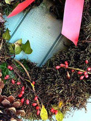 Jayne Longlands Floral Design wreath