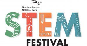 The Northumberland National Park STEM Festival logo