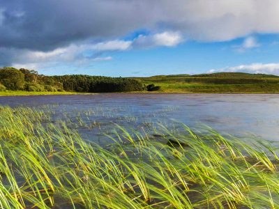 Greenlee Lough near the Pennine Way in the Northumberland National Park